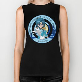 Sailor Mercury - Crystal Intro Biker Tank