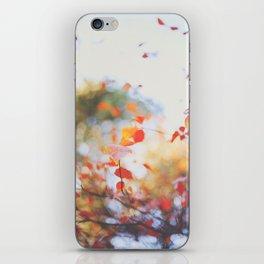 . Orange Leaves . iPhone Skin