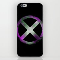 x men iPhone & iPod Skins featuring X-Men by Trey Crim