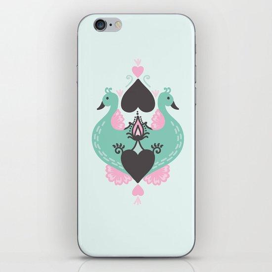 Pretty Peacocks iPhone & iPod Skin