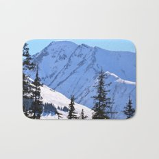 Back-Country Skiing  - V Bath Mat
