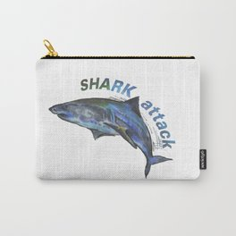 Shark Attack Carry-All Pouch