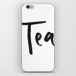 Tea 2 iPhone Skin