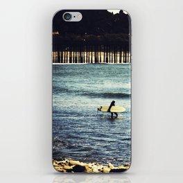 Longboard Pier iPhone Skin