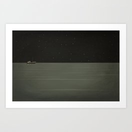 Lost Coastlines Art Print