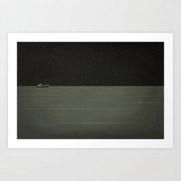 Lost Coastlines Art Print