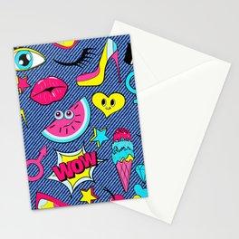 colturepop pattern Stationery Cards