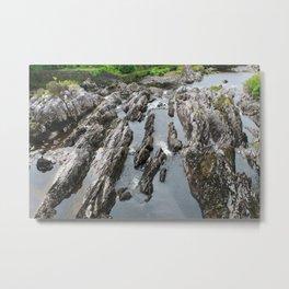 Glass River Metal Print