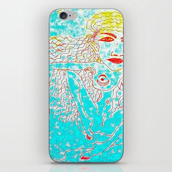 Sea Child iPhone & iPod Skin