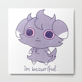 We know you are Metal Print