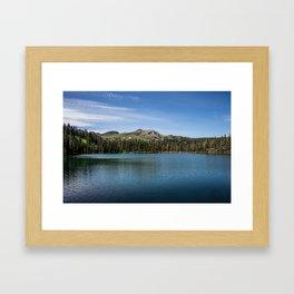 Fairy Lake, Gallatin County, MT Framed Art Print