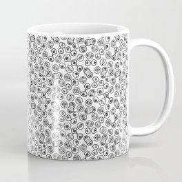 Mitosis - Black on White Coffee Mug