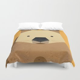 Whimsy Wombat Duvet Cover