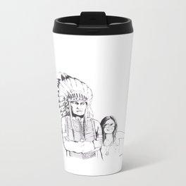 Please Smile Metal Travel Mug