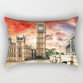 Power of London City Rectangular Pillow