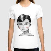 audrey hepburn T-shirts featuring Audrey Hepburn by Maripili