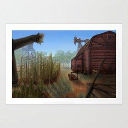 Small Farm Art Print