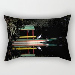 Xochimilco Lake Rectangular Pillow