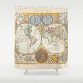 Map 1794 Laurie & Whittle Shower Curtain
