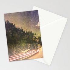 Mountains and Forest - Drive Stationery Cards