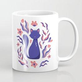 Dark Cat Coffee Mug