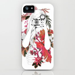 tropical photo iPhone Case