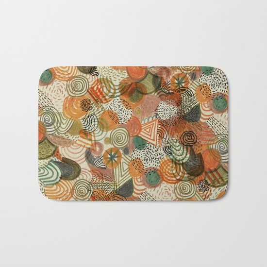 Tomatoes and pickles  Bath Mat