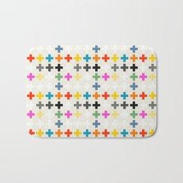 Cross Pattern Bath Mat
