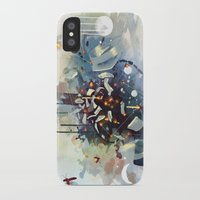 earthbound iPhone & iPod Cases featuring Big Bang by Travis Clarke
