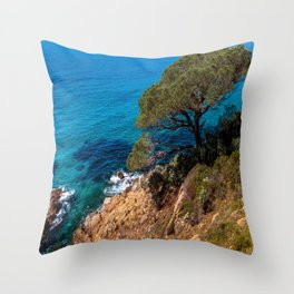 Seaside Shade Throw Pillow