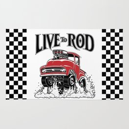 1956 FORD PICK-UP Workin' Hot Rod series Rug