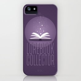 Lorebook Collector iPhone Case