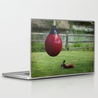 boxing Laptop & iPad Skins featuring Boxing 101 by Starr Cuevas Photography