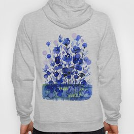 Floral Charm No.1by Kathy Morton Stanion Hoody