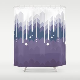 Mountains Abstract Shower Curtain