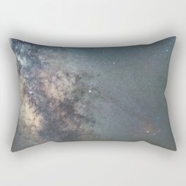 Milky way Antares Region wide angle view Rectangular Pillow