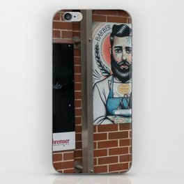 Austrian Barber Vienna iPhone Skin