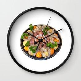 Fondue Wall Clock