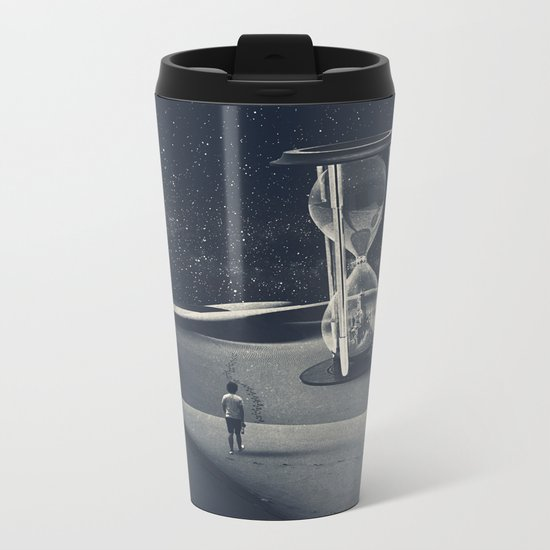 Plenty Of Sand Metal Travel Mug
