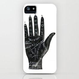 Palmistry no.1 iPhone Case
