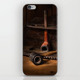 The Pipe Rack iPhone Skin