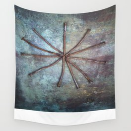 Circle of Nails Wall Tapestry