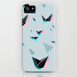 pattern no.1 / geometric neon iPhone Case