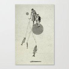 April | Collage Canvas Print