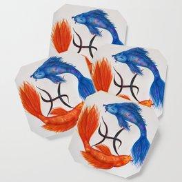 Piscean Koi Coaster