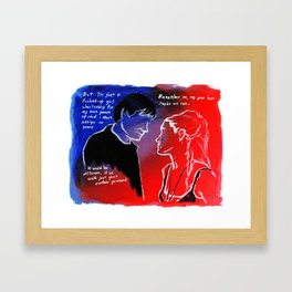 May be we can Framed Art Print