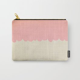 A Single Pink Scallop Carry-All Pouch