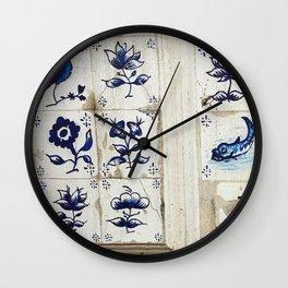 Madeira Doors 1 Wall Clock