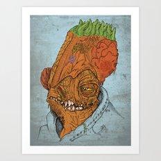 It's A Trap Art Print