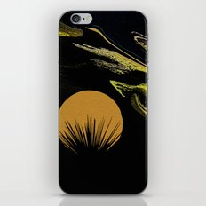 Abstract California Sunset iPhone & iPod Skin